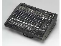 Samson Multifaceted powered mixer in an easy-to-use table-top/rack-mountable design