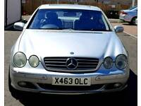 Very rare Mercedes CL500 V8 fully loaded only one in UK