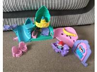 Disney Princess Little People Ariel Cave