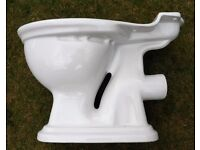 * Good Condition White Porcelain Traditional Style Toilet Decorative Novelty Garden Planter Pot ? *