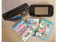 Nintendo Wii U With Mario Kart 8, Wii Party & Super Mario Galaxy 2!