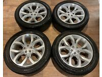 19'' GENUINE LAND ROVER DISCOVERY SPORT RANGE EVOQUE ALLOY WHEELS TYRES ALLOYS 5X108