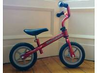 Red Chicco red-bullet Balance Bike Age 2-4
