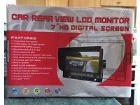 Car rear view LCD monitor