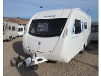 SPRITE MUSKETEER EB CARAVAN 2012 with motor mover