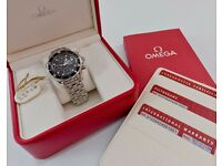 OMEGA SEAMASTER DIVER 300 M CHRONOGRAPH 41.5 MM AUTOMATIC 213.30.42.40.01.001 Original Box & Cards