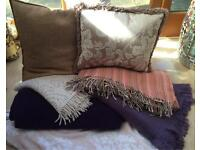 Wedding Props: Cushions & Wool Blanket Throws!