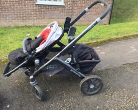 Uppababy vista including additional rumbleseat