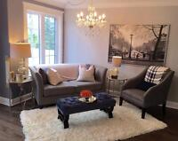 STUNNING SUBLET OPPORTUNITY- 3 bedroom townhouse!! Dec-July