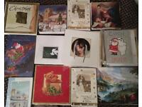 1000 great quality Xmas cards in packs of 100