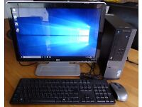 Fast Dell PC Optiplex 3010 SFF i3 3240 @3.4Ghz Complete Package