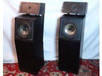 Pair of Naim Audio SBL Speakers in Black Ash S/N 79903