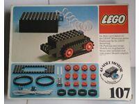 Vintage Lego Set # 107 4.5V Motor