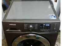 8kg load, A+++ Rated SAMSUNG EcoBubble WF80F5E5U4X, Stainless Steel!!!