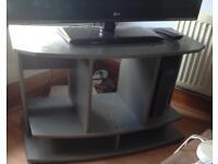 Grey Basic TV Stand