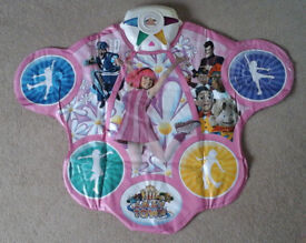 Pink Lazy Town Get Up and Move Dance Mat