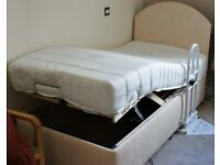 Like New/Unused Electric Bed [1 month old + Like New/Unused] Linstock Single Electric Adjustable