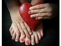 Book a Mobile Nail Technician in Cardiff for Gel Nails, Nail Parties, Facials, Holistics, & More.