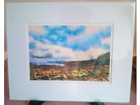 Seven different beautiful mounted prints by respected Borders artist EACH