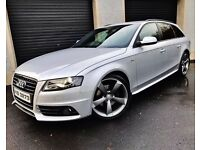 2012 AUDI A4 2.0 TDI S LINE 136 BLACK EDITION AVANT NOT A3 A5 A6 ESTATE PASSAT BMW 320D VW INSIGNIA