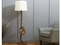 Knot Floor lamp and shade. Furniture Village. RRP £339