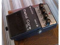 Boss Metal Core ML-2 (Distortion pedal) for guitar. £60. Cash on collection. Sutton Coldfield