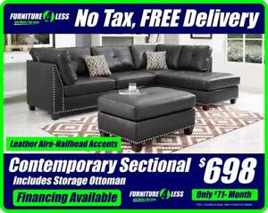 SECTIONALS & SOFAS-OVERSTOCK CLEARANCE-OPEN 12-5 TODAY CALL 587.460.7424