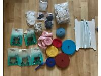 NEW Bundle Of DYI For Clothes Repair And Making, Overlock Edge Tapes, Buckles