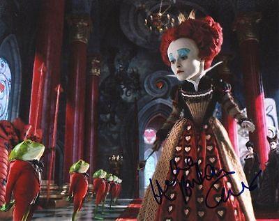 HELENA BONHAM-CARTER.. Alice in Wonderland - SIGNED