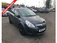 2012 12 VAUXHALL CORSA 1.2 EXCLUSIV AC 5d 83 BHP **** GUARANTEED FINANCE **** PART EX WELCOME