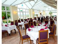 Experienced chef required to work at a busy golf club & hotel