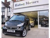 2012 SMART FORTWO CONVERTIBLE,AUTO,DIESEL,SATNAV,HEATED LEATHER SEATS,BLUETOOTH,LOW MILES,AIRCON,DVD