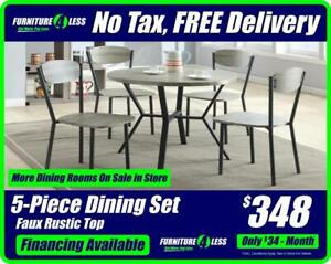 6964ac1a9419 DINING ROOMS-OVERSTOCK CLEARANCE-OPEN 10-8 30 TODAY CALL 587.460.