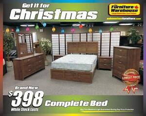 BRAND NEW Complete Bed-Canadain Made