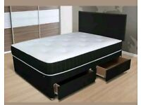 Amigo 3ft, 4ft, 4ft6, and Kingsize Divan bed. - New