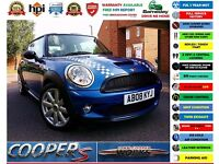 2008 BMW MINI Hatch 1.6 Cooper S 3dr JCW KIT+ ONE YEAR WARRANTY ! Polo Fiesta Focus 1 3 5 7 Series