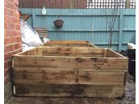 Sturdy rustic planter box for sale - 1,200 x 1,200