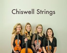 Chiswell Strings: String Quartet/String Trio or String Duo available for weddings, parties & events.