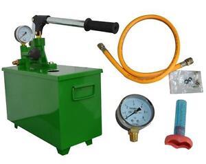 Hydraulic Manual Testing Pump Pipeline Pressure testing 60KG/6MPA tool Pump 134001