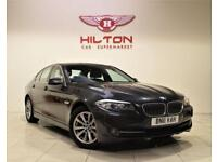 BMW 5 SERIES 2.0 520D SE 4d 181 BHP + 1 PREV OWNER + SERVICE H (grey) 2011