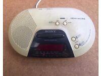 Sony Dream Machine clock radio C720L