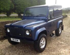 Landrover 90 Galvanised Chassis 300 Tdi