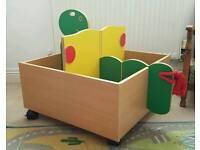 Children's kids toy book storage unit