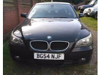 BMW 525D 6 speed manual Great car BLACK with BLACK leather e60 not 530 530d 520