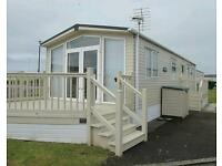 6 berth static caravan at Trecco Bay