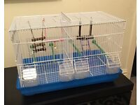 Birdcage - Bird Cage - Large - With Divider to seperate into 2 cages