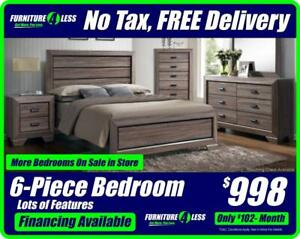 BEDROOM SETS-OVERSTOCK CLEARANCE-OPEN 12-5 TODAY MORE BEDROOM SETS IN STORE-CALL 587.460.7424