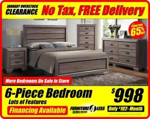 BEDROOM SETS-OVERSTOCK CLEARANCE-OPEN 12-5 TODAY MORE BEDRROM SETS IN STORE-CALL 587.460.7424
