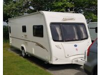 BAILEY SENATOR INDIANA CARAVAN 2007, WITH AWNING, POWER MOVER AND EQUIPMENT