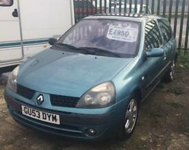 Renault Clio 1.2 3 door hatchback